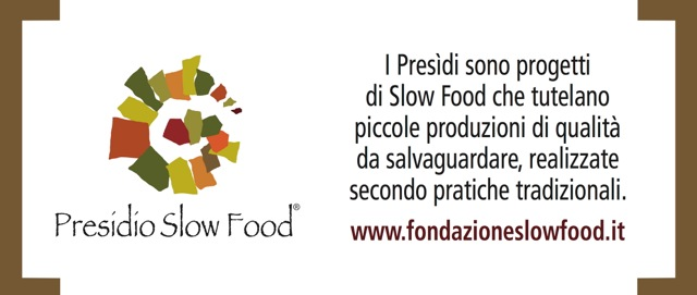 PRESIDIO slow food parovel sigillo