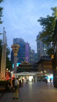 Shanghai temple Parovel shopping