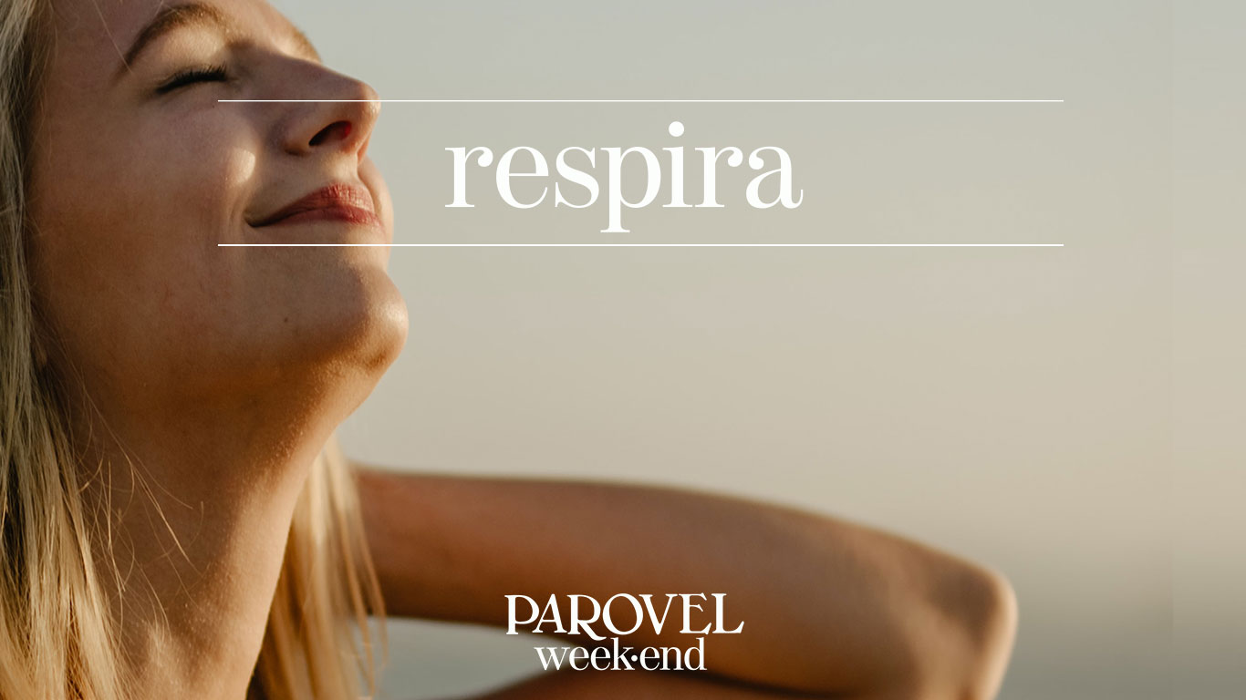 all aria aperta weekend parovel respira
